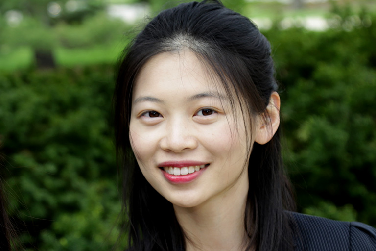 PhD student Ying Cheng