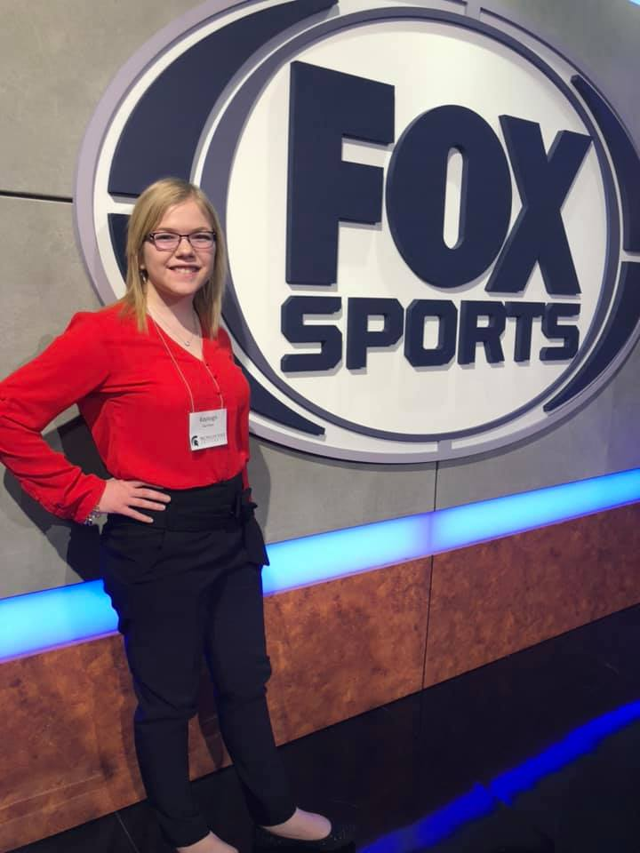 Kayleigh at Fox Sports South