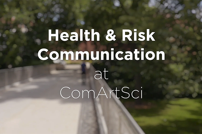 Health and Risk Communication at ComArtSci
