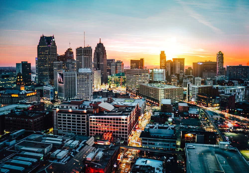 Photo of Detroit Skyline