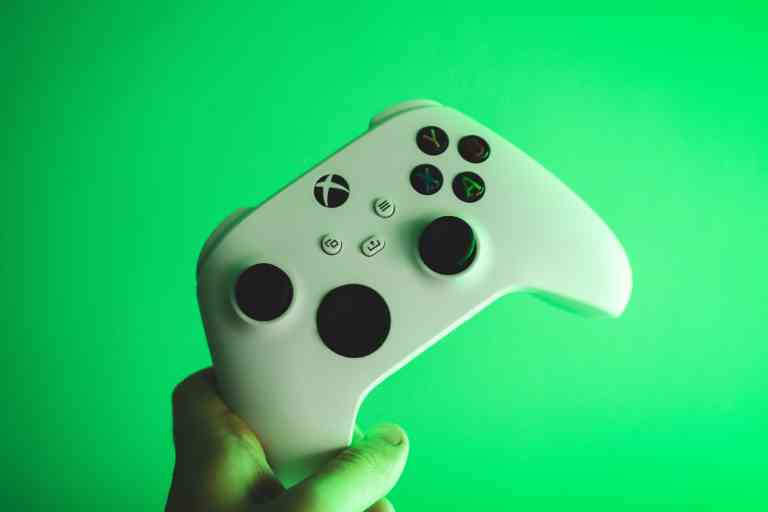 Photo of game controller