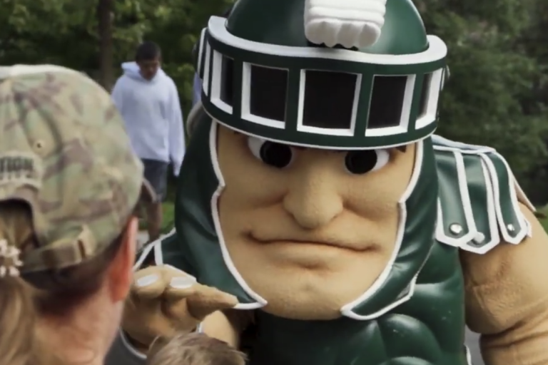 Photo of Sparty