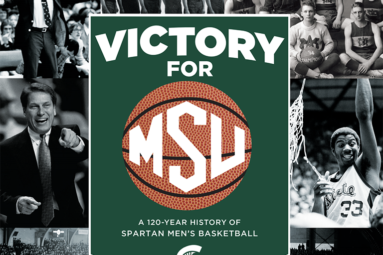 Screenshot of Victory for MSU: A 120-Year History of Spartan Men's Basketball.