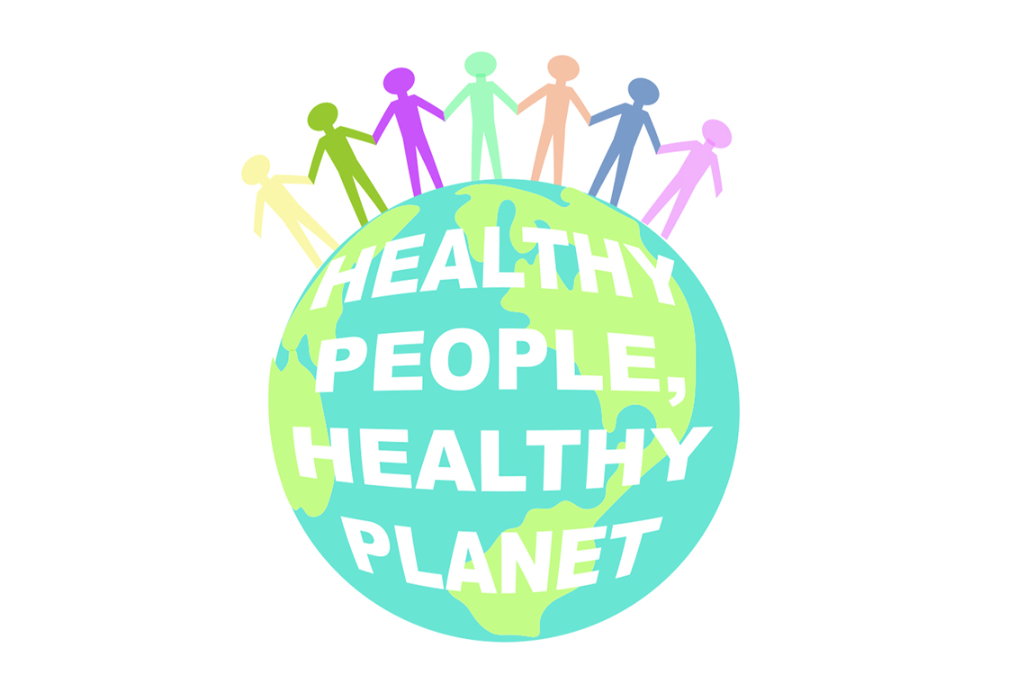 Healthy People Healthy Planet Logo