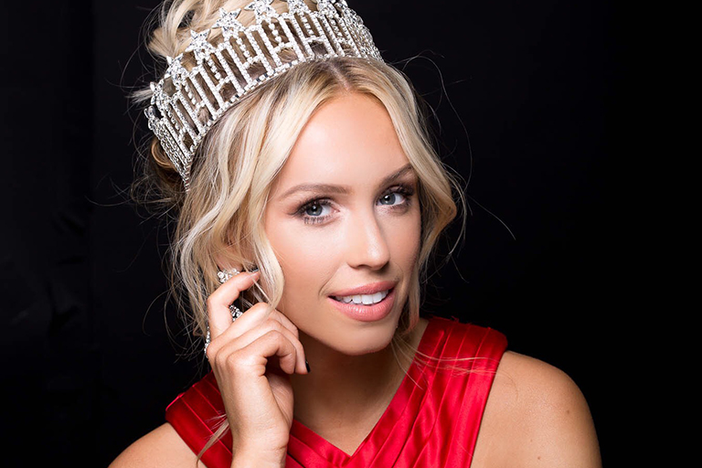 Advertising alumna and Miss Michigan USA 2018 Elizabeth Johnson.