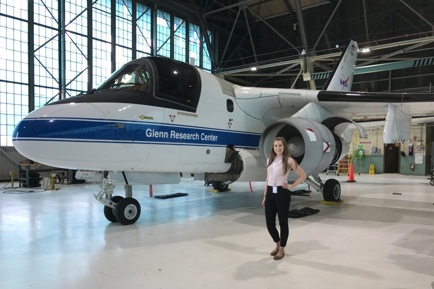 NASA Intern Ashley Weiss