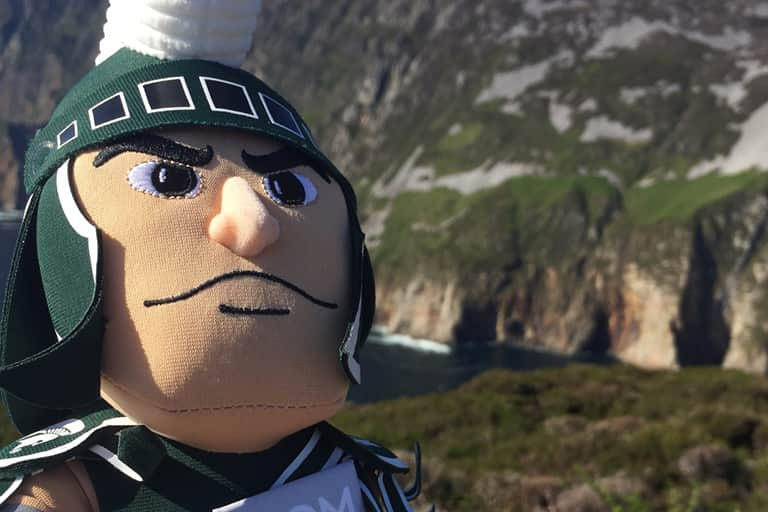 Sparty at Slieve League
