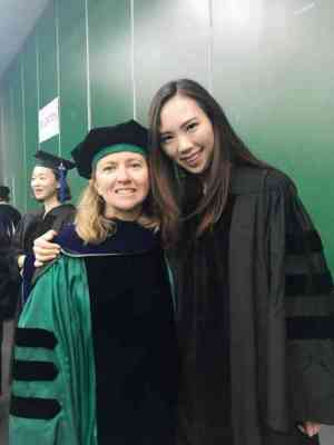 Rain Liu and her advisor Maria Lapinski