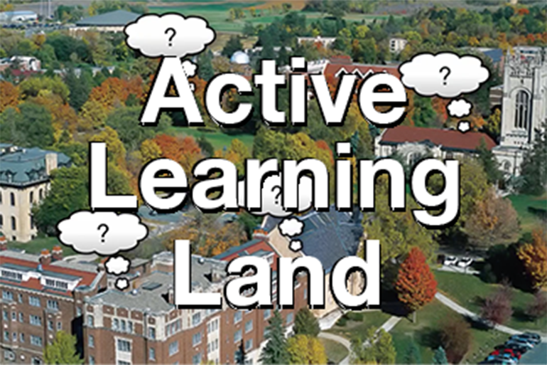 Active Leaning land screen shot